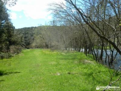 Río Cega,Santa Águeda–Pedraza; laguna del duque ciudad encantada de tamajón anillo picos de eur